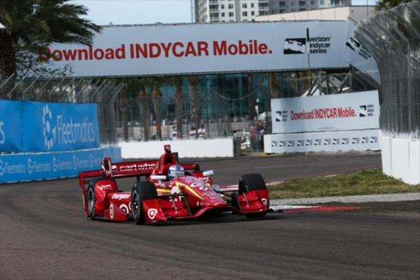 INDYCAR-2016-St-PETERSBURG-La-DALLARA-CHEVY-de-SCOTT-DIXON-du-CHIP-GANASSI