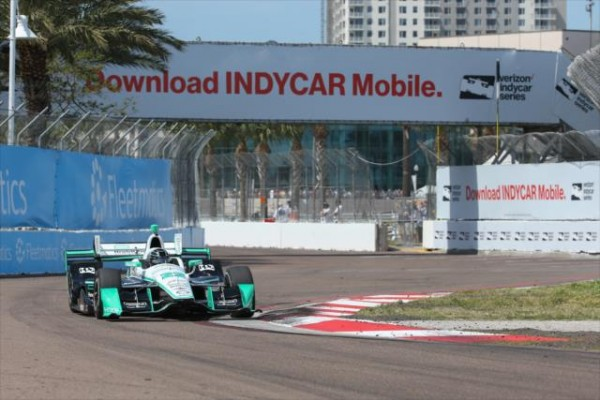 INDYCAR 2016 -St PETERSBURG- La DALLARA CHEVY de SIMON PAGENAUD du Team PENSKE