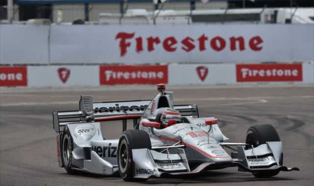 INDYCAR 2016 -St PETERSBURG- La DALLARA CHEVY de WILL POWER du Team PENSKE 6666