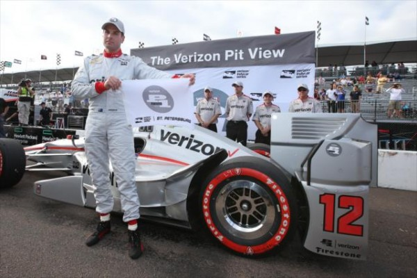INDYCAR-2016-St-PETERSBURG-La-DALLARA-CHEVY-du-POLEMAN-WILL-POWER-du-Team-PENSKE