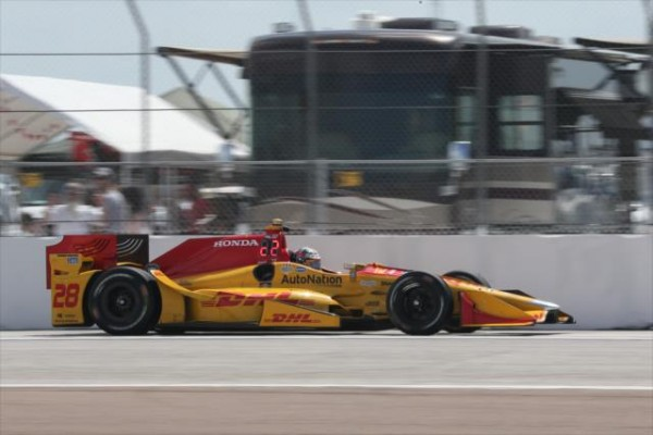 INDYCAR-2016-St-PETERSBURG-La-DALLARA-HONDA-de-RYAN-HUNTER-REAY-du-Team-ANDRETTI.
