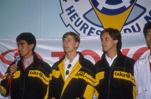 Johnny-DUMFRIES-24-HEURES-du-MANS-1990-avec-Ravaglia-et-Suzuki-TOYOTA-TOMS-©-Manfred-GIET
