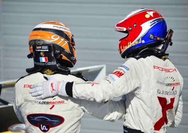 PORSCHE-CARRERA-CUP-2014-PAUL-RICARD-Christophe-LAPIERRE-et-Roar-LINDLAND-Photo-MAX-MALKA