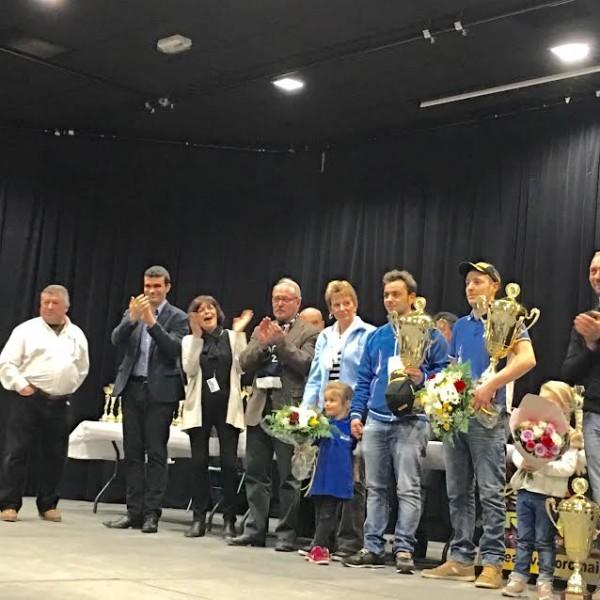 RALLYE-DE-VAISON-2016-Les-vainqueurs-sur-le-podium-le-dimanche-6-Mars.