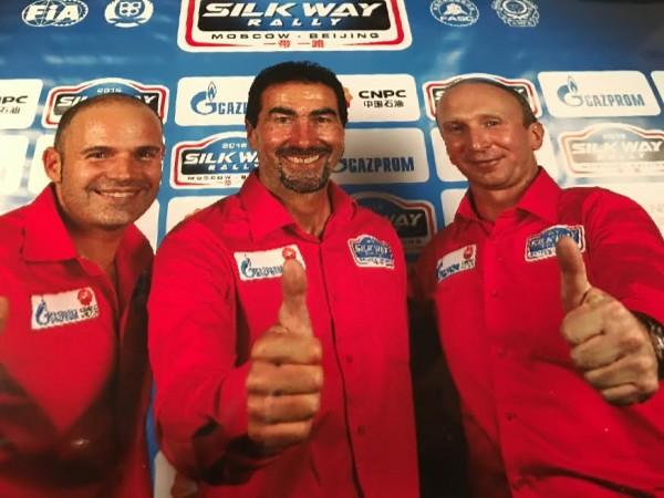 SILK-WAY-2016- FRED-LEQUIEN-LUC-ALPHAND et VLADIMIR-CHAGIN
