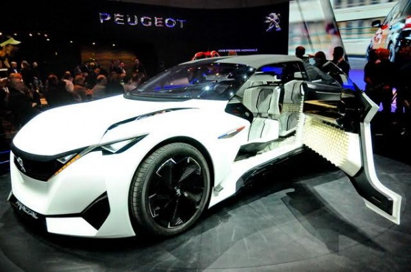 Salon de Genève 2016 - Concept car Peugeot Fractal - Photo Daniel Noly
