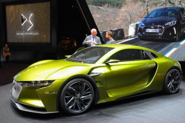 Salon de Genève 2016 - DS E-Tense de quoi chasser sur les terre des coupés Audi - Photo Daniel Noly