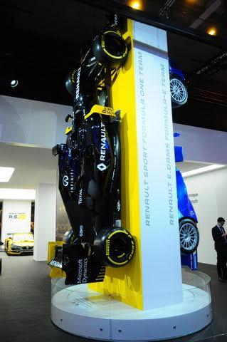 Salon de Genève 2016 - On vise les sommets en monopl ... enault en F1 et e-grand prix - Photo Daniel Noly