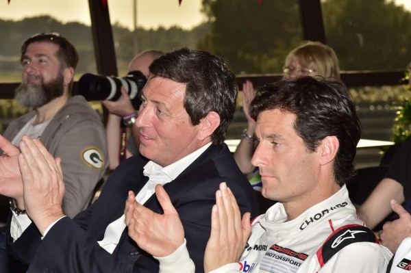 WEC-2016-PAUL-RICARD-Gérard-NEVEU-le-patron-du-WEC-avvec-Mark-WEBBER-Photo-Max-MALKA