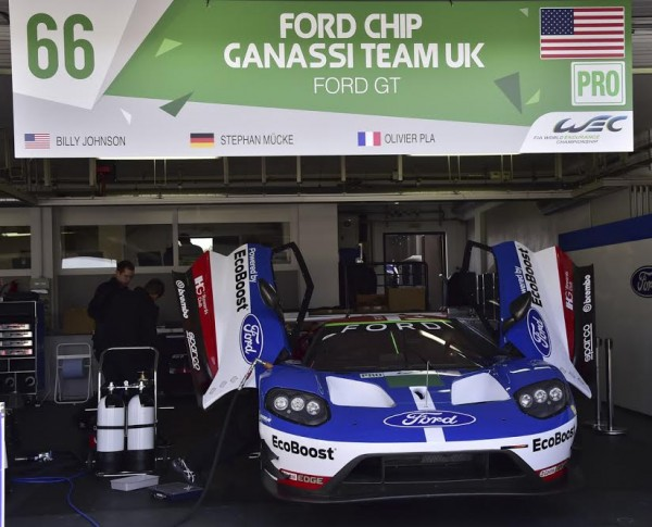WEC 2016 PAUL RICARD- Stand FORD Team CHIP GANASSI - Photo Max MALKA.j