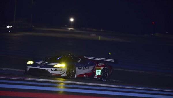 WEC-2016-PAUL-RICARD-Vendredi-25-Mars-Seance-dessai-de-nuit-FORD-GT-N°67-Photo-Max-MALKA
