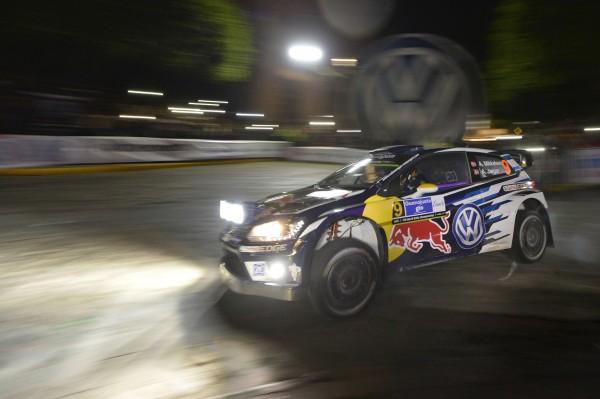 WRC 2016 MEXIQUE - La CW POLO WRC de MIKKELSEN -JAEGER