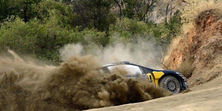 WRC 2016  MEXIQUE  La POLO WRC dev SEB OGIER et JULIEN INGRASSIA