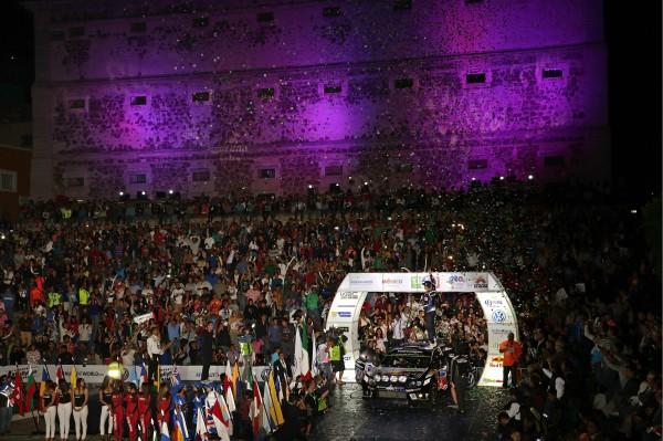 WRC 2016 MEXIQUE - SEB OGIER et Julien INGRASSIA fetent leur 100éme départ en WRC.