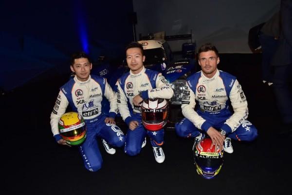WRC-2016-PAUL-RICARD-Jeudi-24-Mars-Présentation-equipe-ALPINE-SIGNATECH-Les-pilotes-de-la-N°35-Photo-Max-MALKA