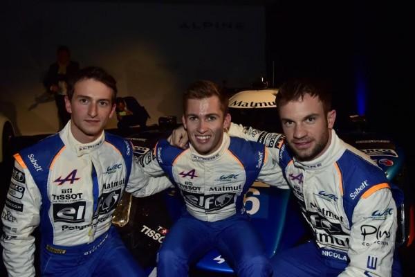 WRC-2016-PAUL-RICARD-Jeudi-24-Mars-Présentation-equipe-ALPINE-SIGNATECH-Les-pilotes-de-la-N°36-Photo-Max-MALKA