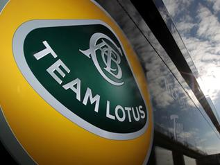 2011 TEAM LOTUS Logo