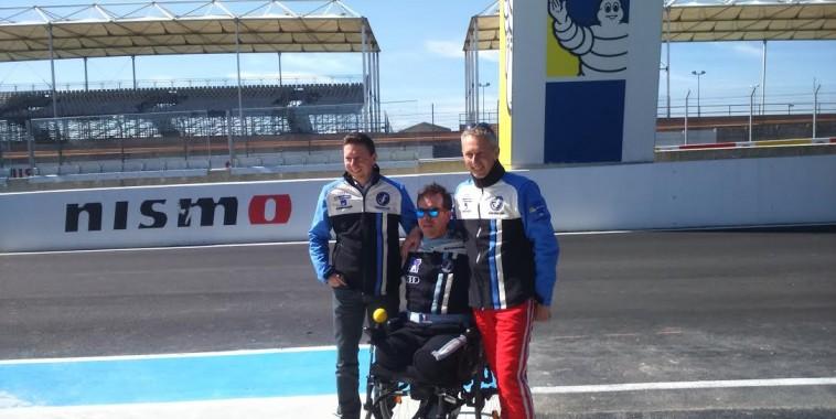 24-HEURES-DU-MANS-2016-Team-SRT-41-Frédéric-SAUSSET-avec-ses-deux-équipiers-Jean-Bernard-BOUVET-et-Christophe-TINSEAU.j