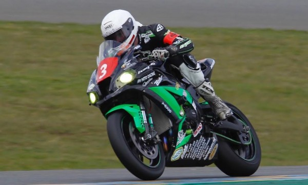 24 HEURES DU MANS MOTO 2016 - KAWASAKI N° 3 de KEVIN DENIS - Photo Thierry COULIBALY.