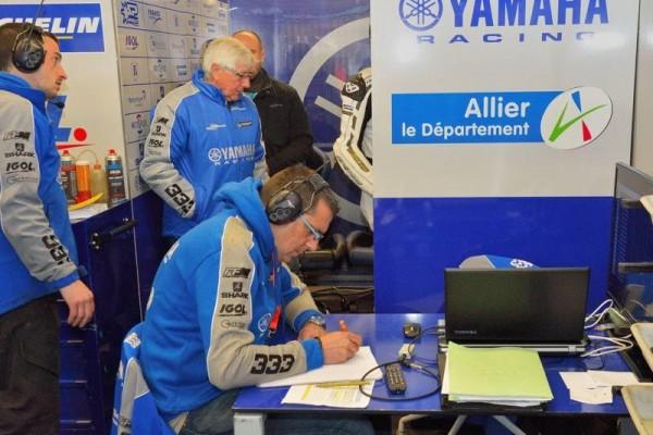 24 HEURES DU MANS MOTOS 2016 - Yannick Lucot manager Viltais Expériences N°333.