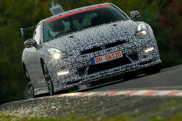Nissan GT-R has lapped the fearsome N¸rburgring Nordschleife circuit in Germany in just 7 minutes 8.679 seconds1. The lap time was recorded by Michael Krumm, a Nissan racing pilot and test-driver, behind the wheel of a 2014 Nissan GT-R NISMO*.