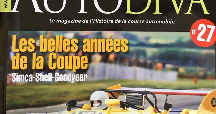 AUTODIVA N°27 Avril 2016 Couverture