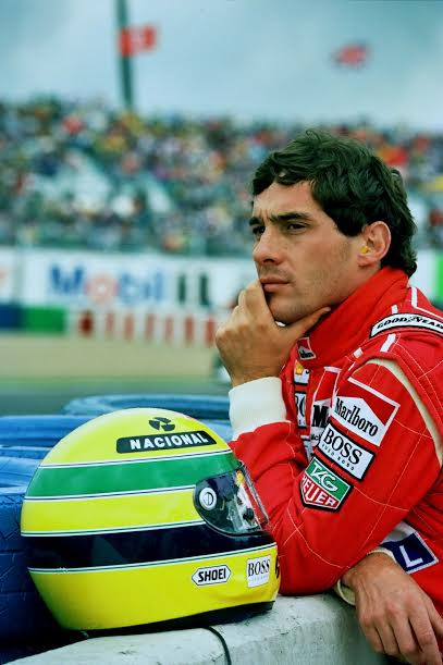 Ayrton SENNA-Magny- Cours 1992-© Manfred GIET-