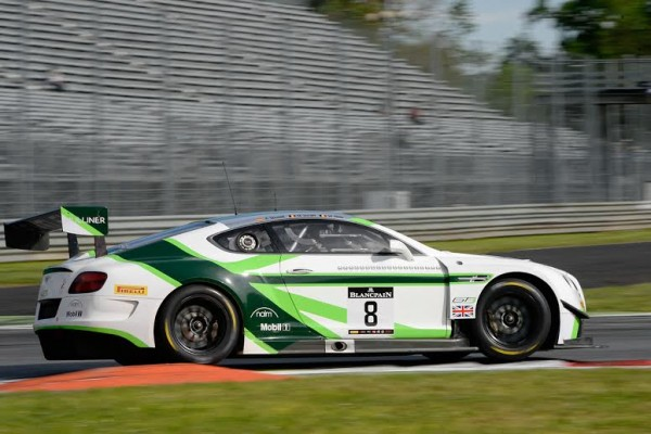 BLANCPAIN 2016 MONZA BENTLEY N°8 Photo Antoine CAMBLOR