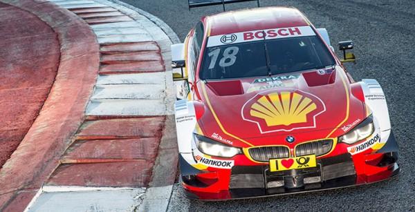 DTM 2016 -HOCKENHEIM Test essais privés Mardi 5 avril La BMW de Augusto FARFUS