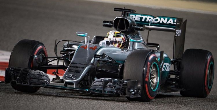 F1 2016  BAHREIN  MERCEDES de LEWIS HAMILTON