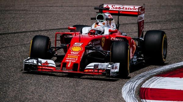 F1 2016 SHANGHAI La FERRARI de Sebastian VETTEL
