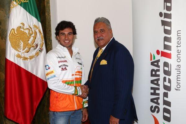F1-Sergio-Perez-et-Vijay-Mallya