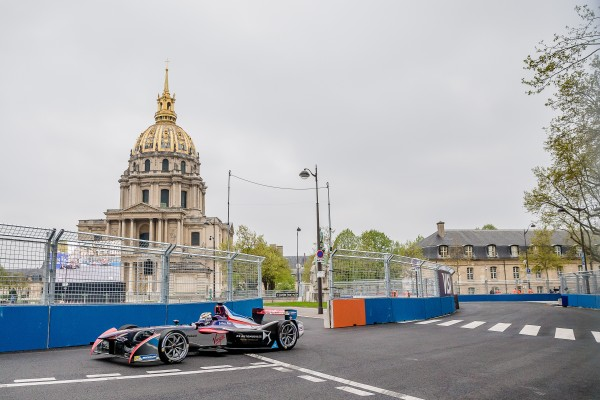 FORMULE E 2016 GP de PARIS - JEAN ERIC VERGNE DS VIRGIN-