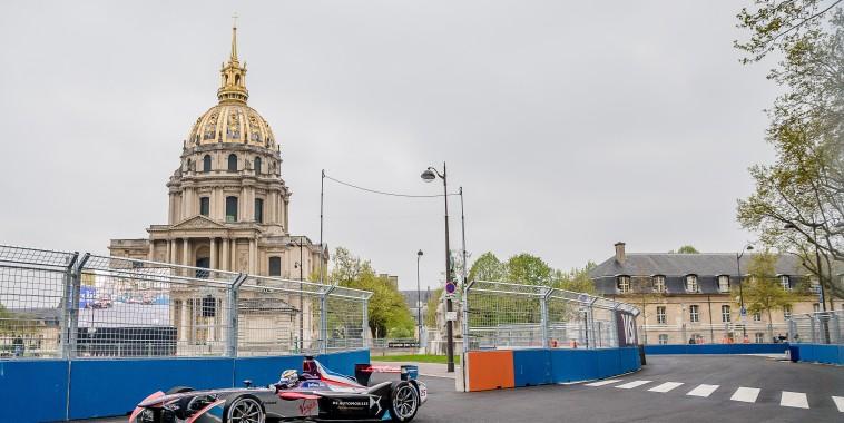FORMULE E 2016 GP de PARIS - JEAN ERIC VERGNE DS VIRGIN-