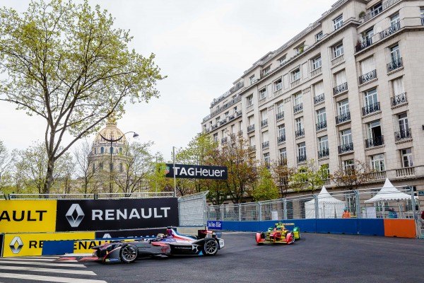 FORMULE E 2016 - GP de PARIS - La onoplace DS VIRGIN de Jean Eric VERGNE