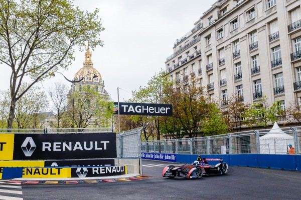 FORMULE E 2016 GP de PARIS - SAM BIRD DS VIRGIN.