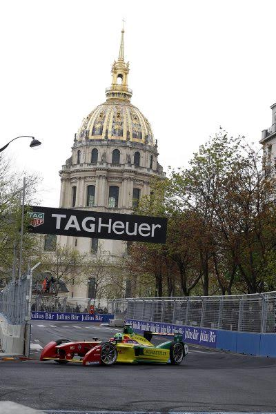 FORMULE E 2016 - PARIS -DI GRASSI- Photo Bernard BAKALIAN
