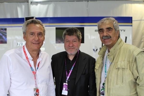 Jean-Paul Driot, Régis Laspalès et Bernard Bakalian