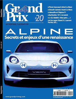 MAGAZINE GRAND PROX N°20 AVRIL 2016