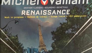 MICHEL VAILLANT ALBUM RENAISSANCE La couverture