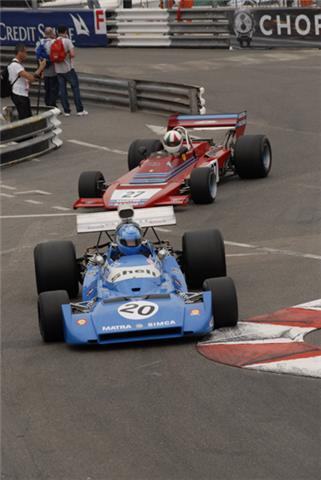 Grand Prix Historique de MONACO 2014 - Serie F 1. La MTRA MS 120 Photo Max MALKA
