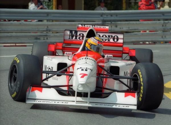 Mark BLUNDELL-Mc-Laren 1995-© Manfred GIET.