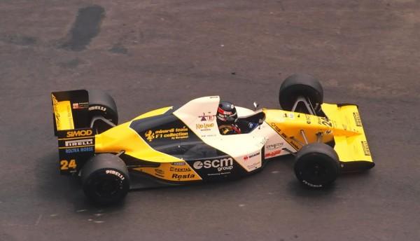 Paolo-BARILLA-Minardi-F-1-M-190-en-1990-©-Manfred-GIET-