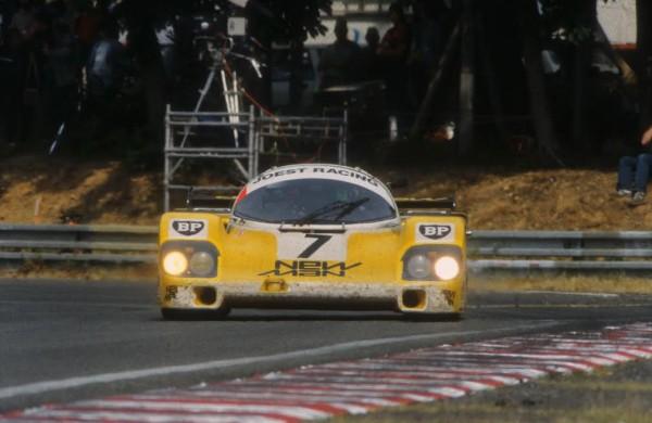 Paolo BARILLA-Porsche 956 B victoire aux 24 Heures du Mans 1985 © Manfred GIET