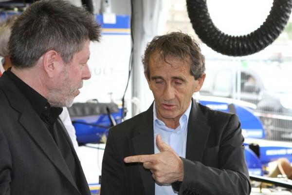 Régis Laspalès, Alain Prost ---