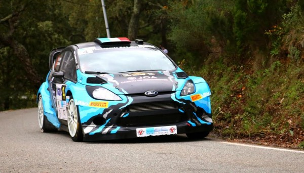 FORD FIESTA WRC de David SALANON - Photo Jean François THIRY