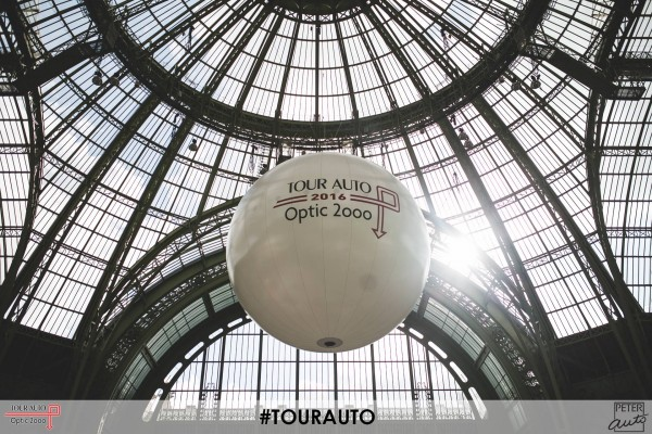 TOUR AUTO 2016 - La verriére du GRAND PALAIS a PARIS