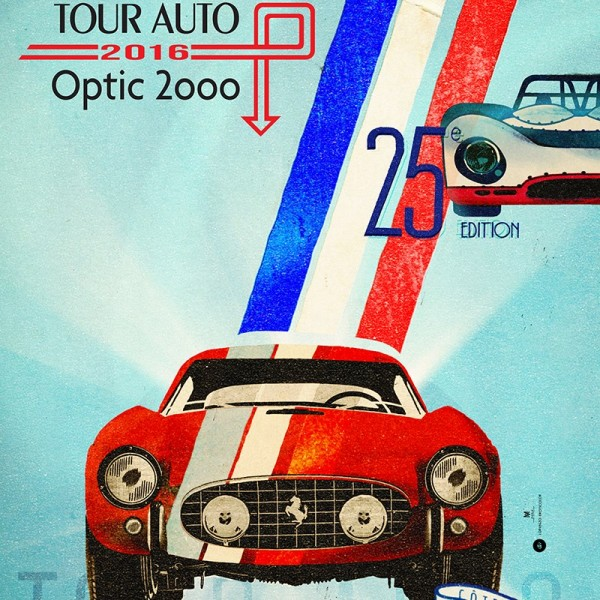 TOUR AUTO 2016 affiche