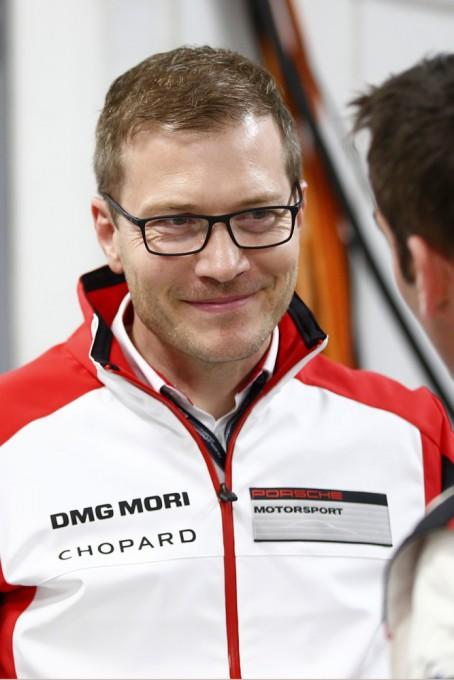 WEC 2015 FUJI Andreas Seidl, Team Principal Porsche Team.