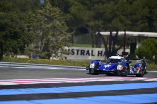 WEC-2016-PAUL-RICARD-Vendredi-25-Mars-Test-du-Prologue-ALPINE-A460-N°36- Equipe-SIGNATECH- Photo : Max MALKA